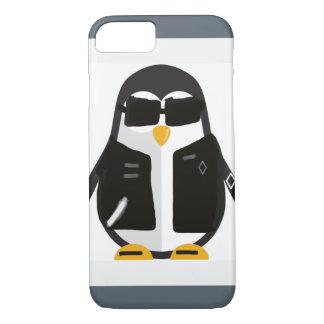 Biker penguin iPhone 8/7 case