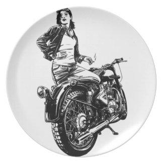 Biker Plate