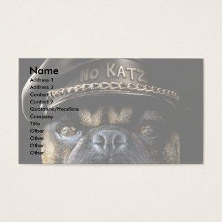 Biker Pug Business Card