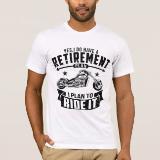 Biker Retirement T-Shirt