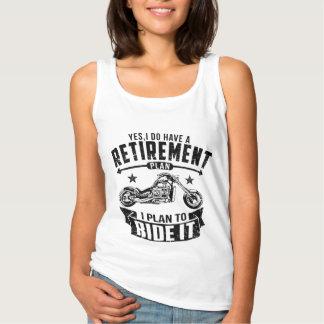 Biker Retirement Tank Top