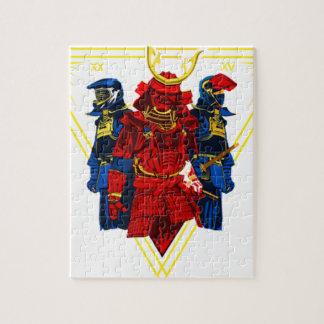 Biker Samurai Crew T-Shirt Jigsaw Puzzle