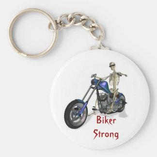 Biker Strong Keychain