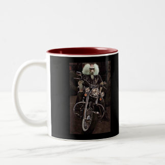 Biker Strong Two-Tone Coffee Mug