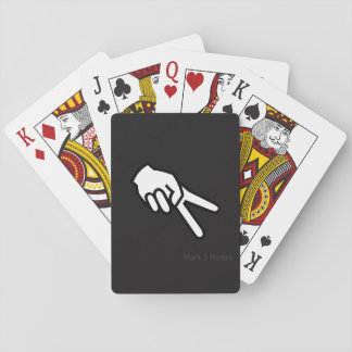 Biker Wave Playing Cards