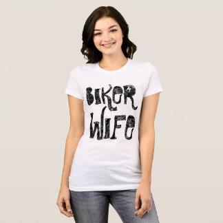 BIKER WIFE t-shirts and sweatshirts