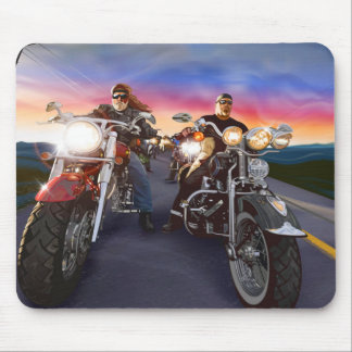 Bikers 1 Mousepad