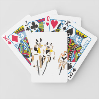 Bikers Bicycle Playing Cards