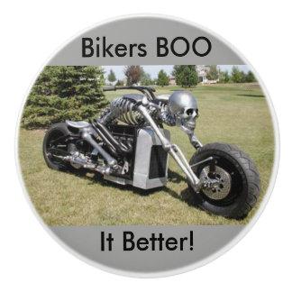 Bikers BOO it Better Skeleton Motorcycle knobs