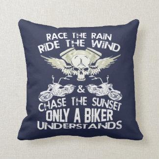 Bikers Code Throw Pillow
