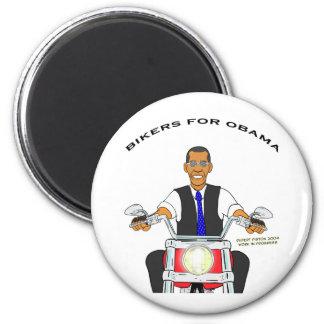 Bikers for Obama Magnet