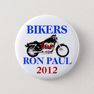 Bikers for Ron Paul button
