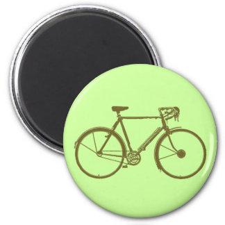 Bikers freezer magnet