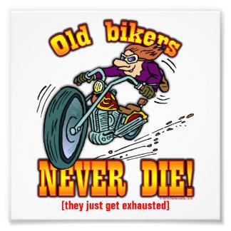 Bikers Photo Print