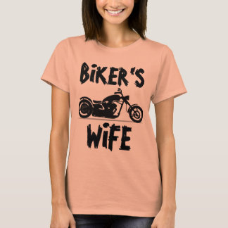 BIKER'S WIFE Motorcycle T-shirts