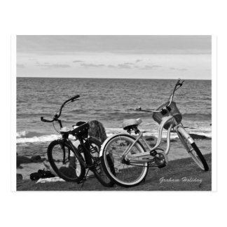 Bikes by the Sea Postcard