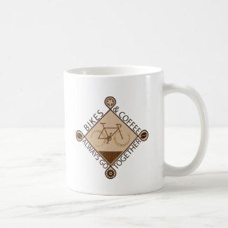 BIKES & COFFEE ALWAYS GO TOGETHER Mug