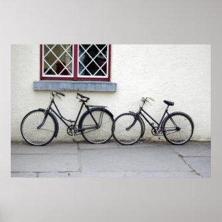 Bikes in Ireland Poster