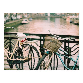 Bikes Of Amsterdam Postcard
