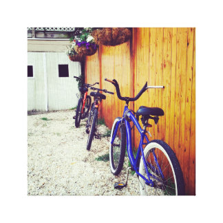 Bikes on LBI Canvas Print
