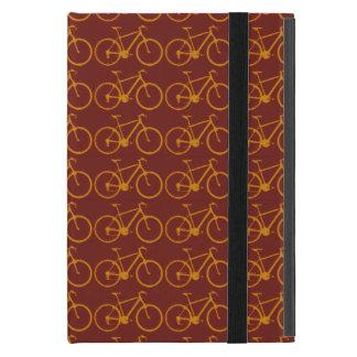 bikes pattern, cycling iPad mini case