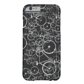bikes pattern in black and white barely there iPhone 6 case