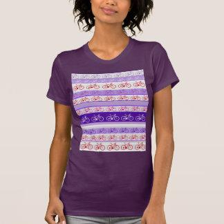 biking - bike stripes pattern T-Shirt