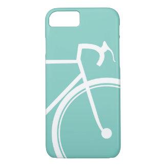 Biking Bikers Turquoise Blue iPhone 8/7 Case