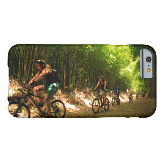 Biking in bamboo trail barely there iPhone 6 case