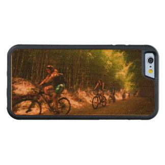 Biking in bamboo trail cherry iPhone 6 bumper case