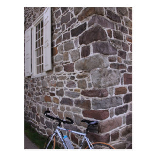 Biking in Valley Forge National Park Postcard