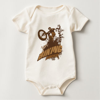 Biking Rocks! Baby Bodysuit