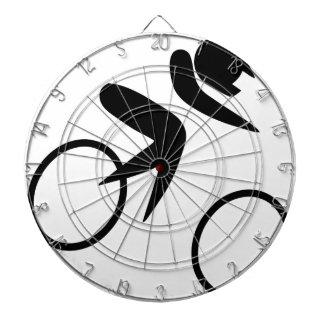 Biking to peace and joy dartboard