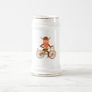 Biking Viking Beer Stein