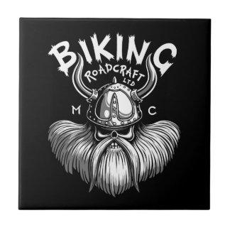 Biking Viking Tile