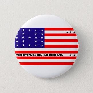 Bikini Atoll flag symbol 2 Inch Round Button