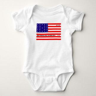 Bikini Atoll flag symbol Baby Bodysuit