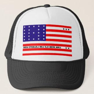 Bikini Atoll flag symbol Trucker Hat