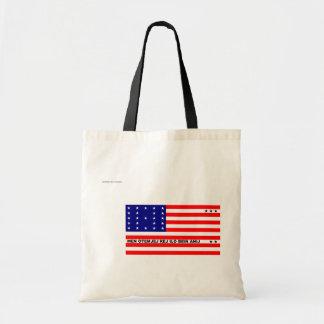 Bikini Atoll, Panama flag Canvas Bags