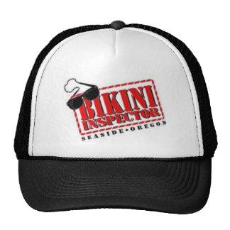 bikini inspector trucker hat