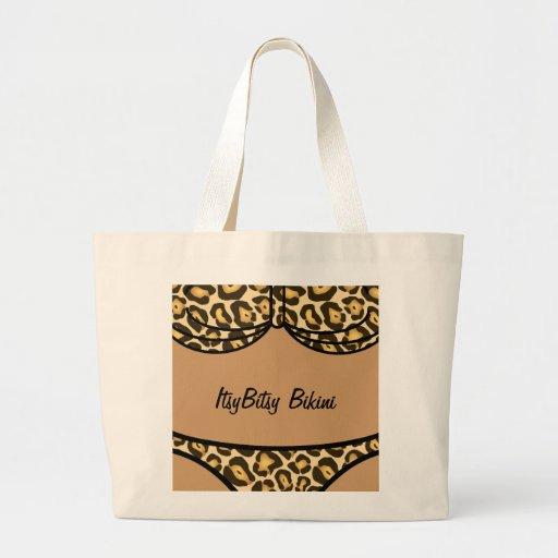 Bikini Leopard Print Bag