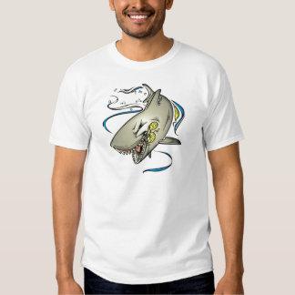 Bikini Shark Men's T Tee Shirt