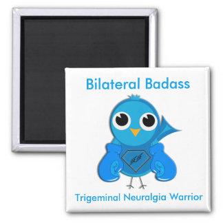Bilateral Trigeminal Neuralgia Warrior Magnet