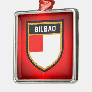 Bilbao Flag Metal Ornament