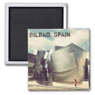 Bilbao Spain Fridge Magnet