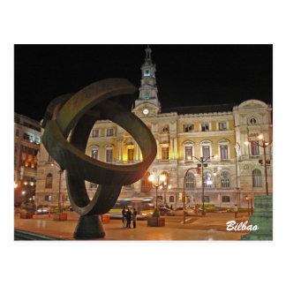 Bilbao Town Hall Postcard