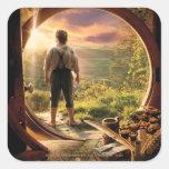 Bilbo Back in Shire Collage Stickers