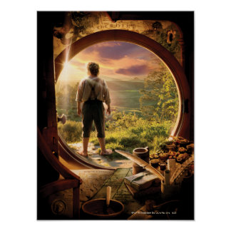 BILBO BAGGINS™ Back in Shire Collage Poster