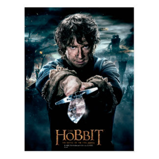 BILBO BAGGINS™ Pointing Sting Postcard
