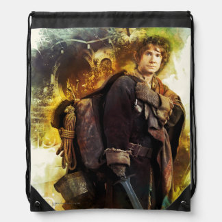 BILBO BAGGINS™ & The Company of Dwarves Graphic Drawstring Bag